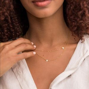 Jennifer Zeuner Jewelry Jewelry - Jennifer Zeuner • Star Double Necklace